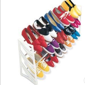 Lynk 15 Pair Convertible Shoe Rack Organizer -